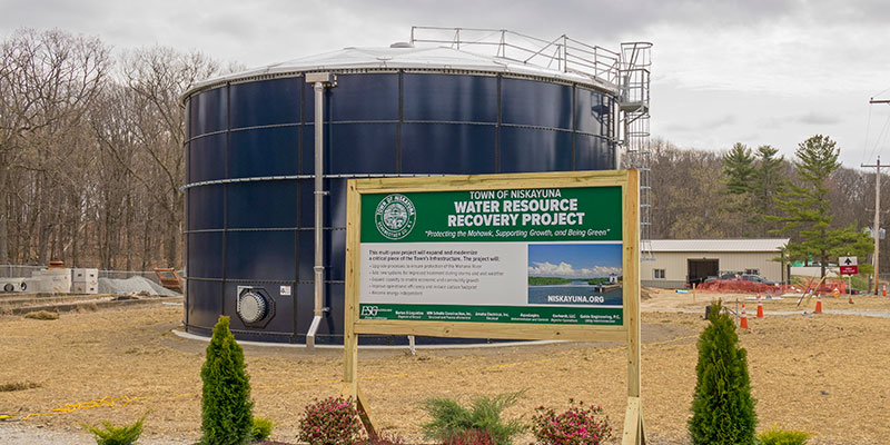 The Town of Niskayuna Water Resource Recovery Project